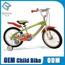 steel material bamboo blue kid bike for boys