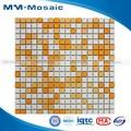 Mixed mosaico cerâmico cheio- corpo de porcelana azulejos do banheiro para a decoração do assoalho cco007yf mm. Mosaico 306x306mm
