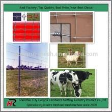 High quality high tensile cheap price cattle rail fence made in HongRui
