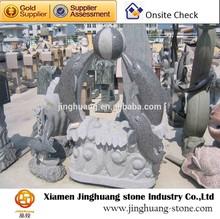 Granite dolphin sculpture & animal sculpture