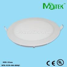 Guangzhou wholesale 6W ultra-thin round led panel light