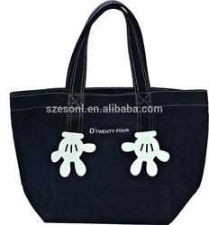 Supplier Canvas Handbags Custom Thermal Eco Shopping Bag