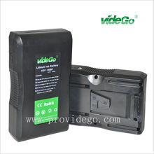 videGo 190Wh Professional Video Camcorder V mount camera portable battery