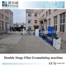 PP PE film plastic granules making recycling machine/plastic film pelletizing recycling line