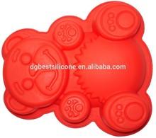 custom animal shape promotional silicone baking moulds