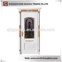 entrance double wooden doors