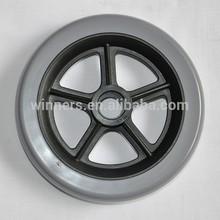 5 inch small size PVC plastic wheels