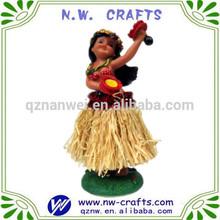 hula girl figurine