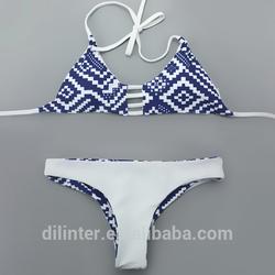 Brazilian cut seamless reversible bikini