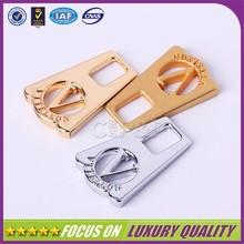 2014 hot sale zinc alloy made metal fancy zipper pulls