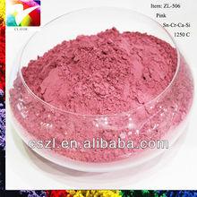 Pink ceramic glaze pigment,glaze stains,pigment colors