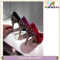 Newest lady sexy gold heels party shoes for women high heel 2014 popular pumps shoes women