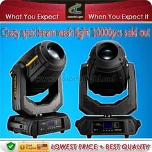 Professional lighting----10r 280w beam moving head light mac aura for sale