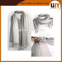 Women's beautiful gradient patchwork tassel scarf Big size cashmere wraps Super long 200cm lady fashion scarves