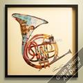 venda quente moderno instrumento musical decoração da parede