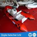 17ft ( 520 cm ) 7 people pvc ou hypalon fibra de vidro dobrável barco com motores de popa