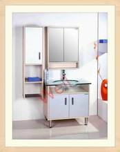 HangZhou export MDF bathroom vanity with mirror 7024