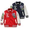 Vente en gros la mode wt-2929 d'hiver pour enfants vêtements enfants vêtements enfants garçons coréens, à bas prix hot vente vestes baseball veste d'uniforme