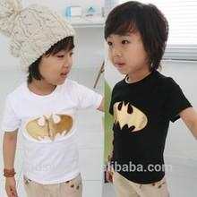 Tx-0798 wholesale fashion children summer child clothes kids clothing Korean new bat models Boys short sleeve cotton T-shirts