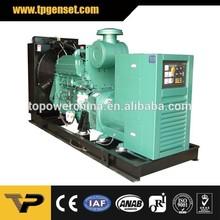 Open type Three Phase 60HZ 168kva diesel generator price in india Powered by Cummins