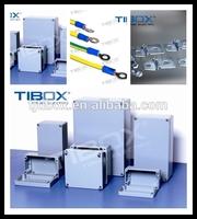 High quality, beautiful waterproof extruded aluminum electronic enclosure, TIBOX