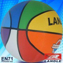 Standard Size 7 24cm mini small size 1 2 with 8 panels rubber PVC PU leather sports ball basketballs
