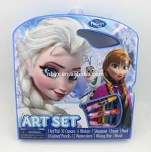 2015 Artistic Studios Frozen Character Art Tote Activity Set