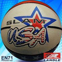 custom logo printed rubber leather PVC balls mini custom basketballs