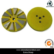Super Sharp Velcro Metal Bond Concrete Grinding Tools/ Grinding Plate