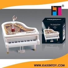 factory custom made hand crank music box with ballerina 10208254