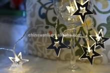 10L string mirror light battery light star