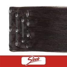 5A GRADE!clip hair extension in 7pcs, virgin human hair extension