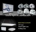 China fabricación lente ojo de pez para tv opticial con material de pmma x-3030-od25-v01