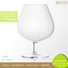Fashionalbe Hand Blown Murano Wine Glass Cup