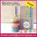 Decorativos scrapbook album, producto de scrapbooking, washi cinta pegatina para scrapbooking