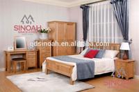 Solid Oak Bedroom furniture set Wooden TRIPLE WARDROBE (CO3116)