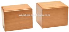 Hot sale Basswood wooden pet casket