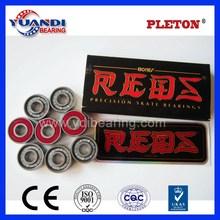 custom printed skateboard bearings high speed great quality skateboard red bones bearing