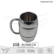 stainless steel beer tankard