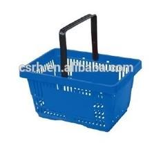 RH-BPH21-2 Single Handle Plastic Shopping Hand Basket