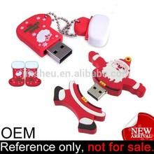 Manufacture promotional despicable me cartoon minion christmas usb