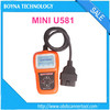[Update online]100% original Memoscan Mini U581 CAN OBDII/EOBDII Reader memoscan U581 scanner with USB interface multi-language