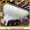3 axle 36-60cbm bulk powder tanker semi trailer cement semitrailer