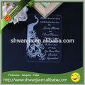 Acrylique de mariage invitation / invitation de mariage lettre / invitation de mariage carte
