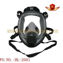 Large Lens Featuring Protector full face respirator