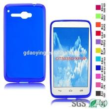 custom design cell phone case Mobile phone skin cover for Alcatel OT5035D