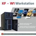kf w1 cpu dual xeon com núcleos 6 amd firepro w9100 projeto específico de estação de trabalho do computador