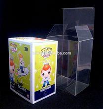 Custom funko pop protector,clear box made in china