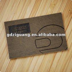 debossed leather tag for denim