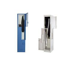 New design Z Door Cabinet Z Shape Metal Lockers school locker
